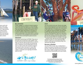 Port Townsend Marine Science Center brochure