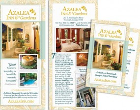 Azalea Inn & Gardens - print marketing
