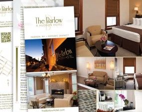The Barlow Hotel print design