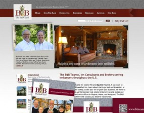 B&B Team web & print design