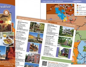 Bed & Breakfast Inns of Utah - print marketing
