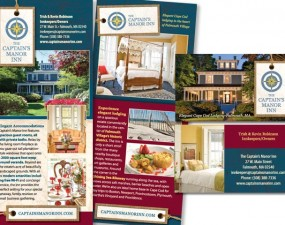 The Captain's Manor Inn - print marketing
