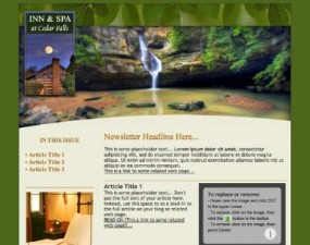 Inn & Spa at Cedar Falls - e-newsletter