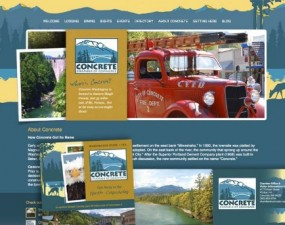 Concrete Chamber of Commerce - web and print design