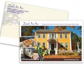 Dutch Iris Inn - print marketing