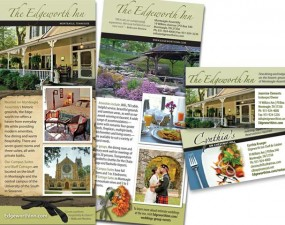 The Edgeworth Inn - print marketing