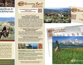 Goosewing Ranch print design
