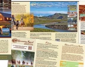 Goosewing Ranch web & print design