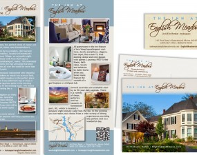 The Inn at English Meadows - print marketing
