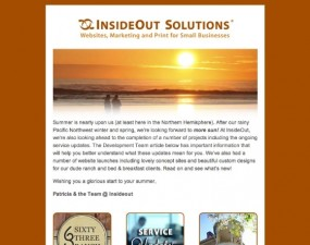InsideOut Solution - e-newsletter