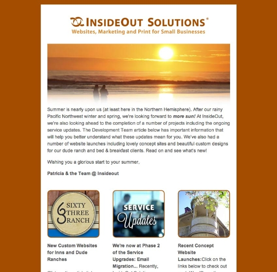 Email Newsletter Marketing Services From Insideout