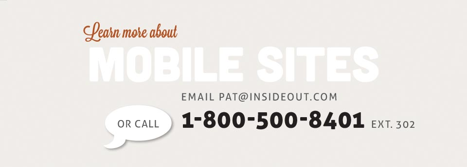insideout mobile website design services