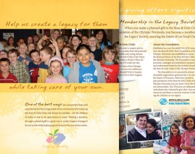 Boy and Grils Clubs Legacy Society brochure