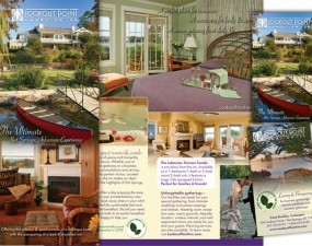 Lookout Point Lakeside Inn - print marketing