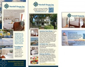 Marshall Slocum Inn - print marketing