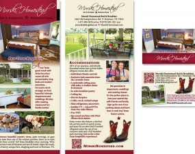 Murski Homestead - print marketing