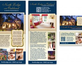 North Lodge on Oakland print design