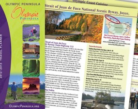 North Olympic Peninsula toursim brochure