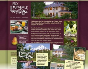 Old Parkdale Inn print design