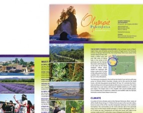 Olympic Peninsula toursim flyers