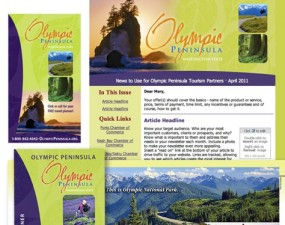 Olympic Peninsula print design