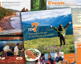 Olympic Peninsula toursim brochure
