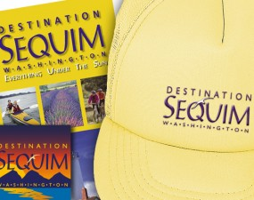 Destination Sequim logo design