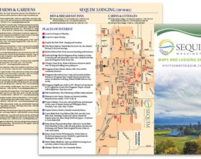 Sequim Tourism map