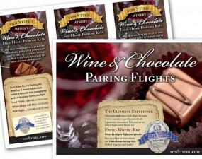 Von Stiehl Winery Fliers