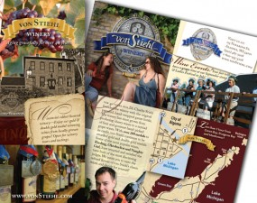 Von Stiehl Winery brochure