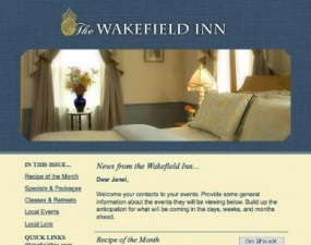 The Wakefield Inn - e-newsletter