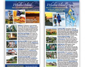 Whidbey Island Bed & Breakfast Association brochure