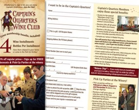 Captain's Walk brochure