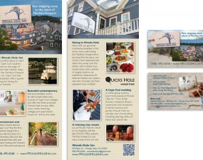 Woods Hole Inn - print design