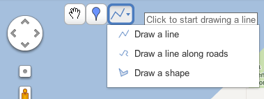 draw a line on your Google map