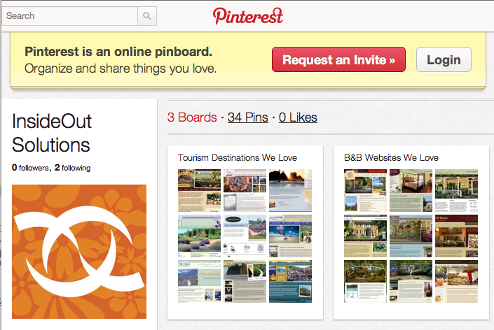 Request a Pinterest Invitation