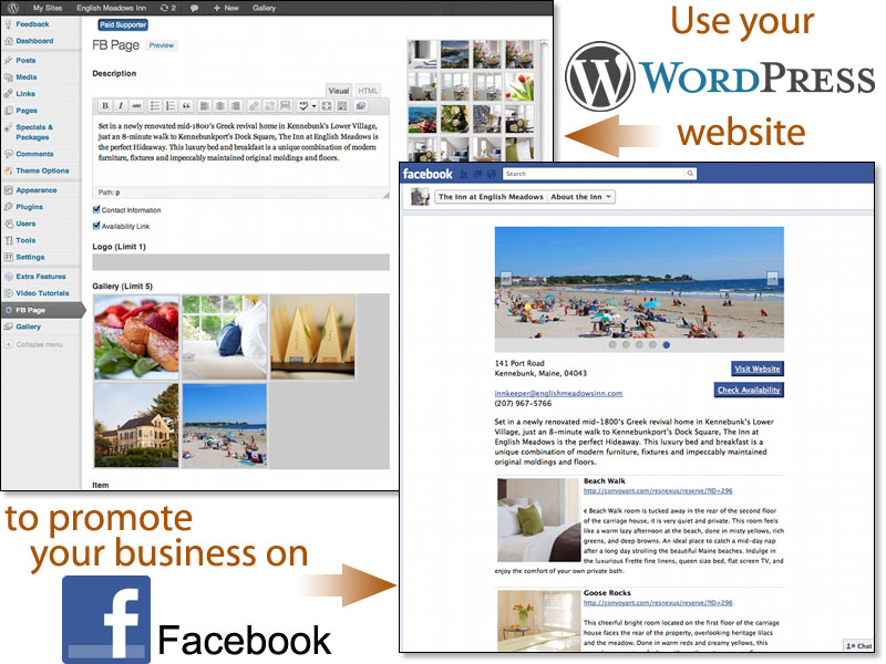 Use WordPress Plugin to Manage Facebook Content