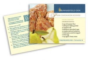 Wakefield Inn Recipe Postcard