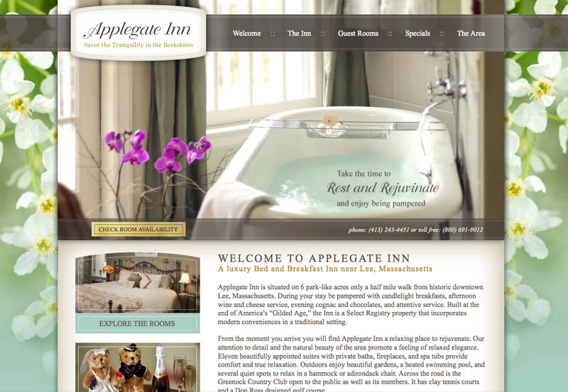 Applegate Inn Bed and Breakfast Custom Design