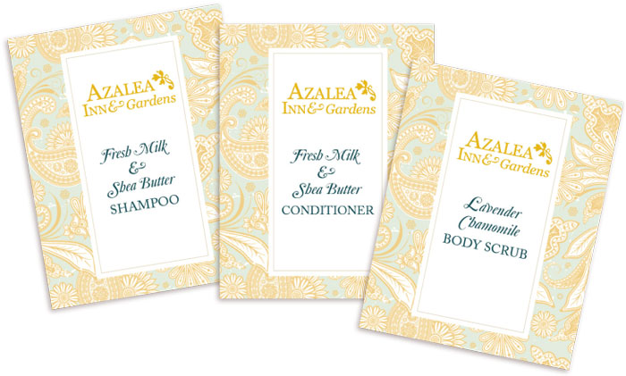 Azalea Dispenser Labels