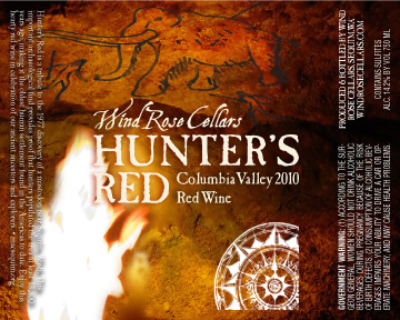 Wind Rose Wine Label
