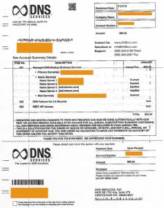 DNS Services (DNSsvc.com) Solicitation