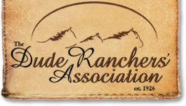 Dude Ranchers' Association logo