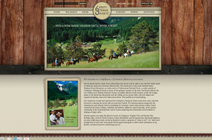 New Website Design for this Montana Dude Ranch