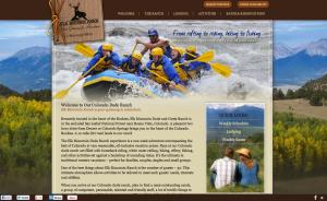 Guest Ranch Website Design for Colorado Dude Ranch