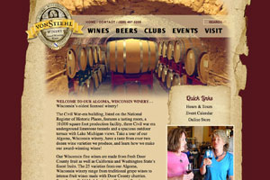 von Stiehl winery website
