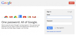 Google Account Sign-in