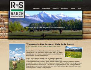 R Lazy S New Ranch Website