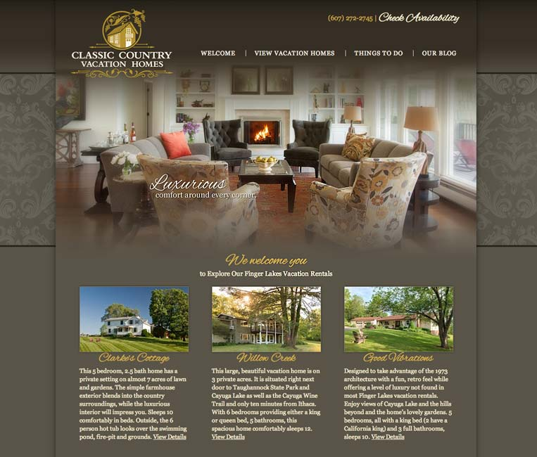 Rental Property Search Engine: Vacation Rental Website Design