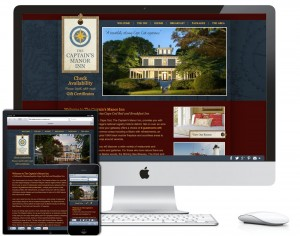 Captain's Manor Inn Responsive Website